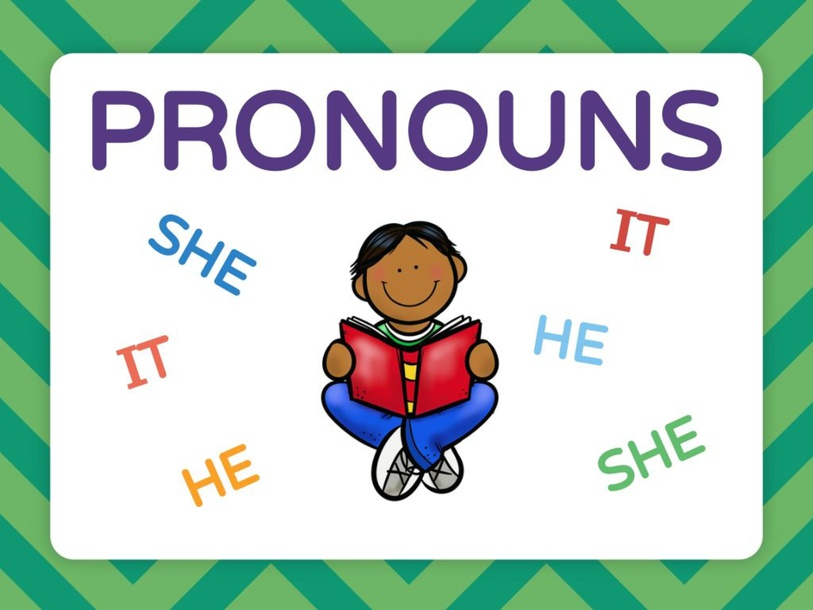 Pronouns by Grecia Zaldivar