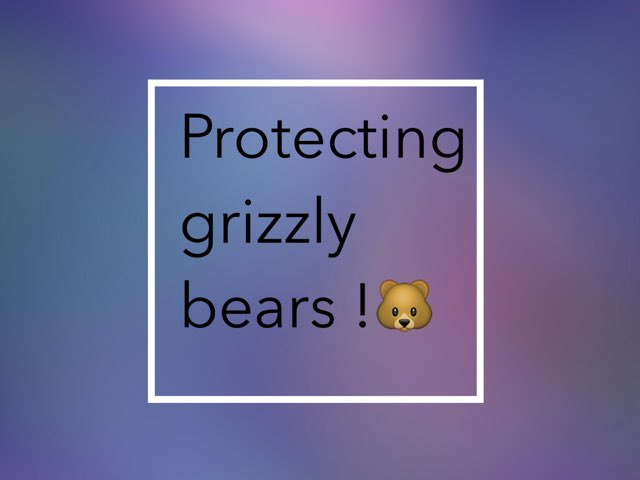 Protect Grizzley by Coach Nikic