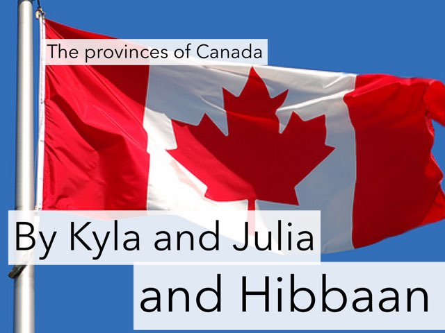 Provinces And Territories by Jennifer Alexander