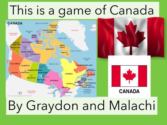 Provinces Of Canada by Jennifer Alexander