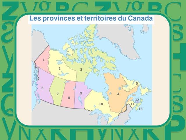 Provinces et Territoires  by Mélanie Fortin
