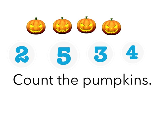 Pumpkin Counting by Yvonne Malone