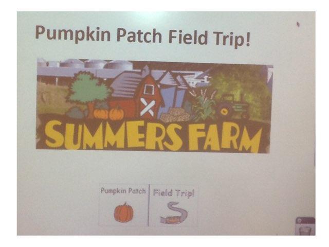 Pumpkin Patch Field Trip by Sarah Severance