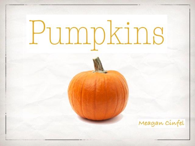Pumpkins by meagan cinfel