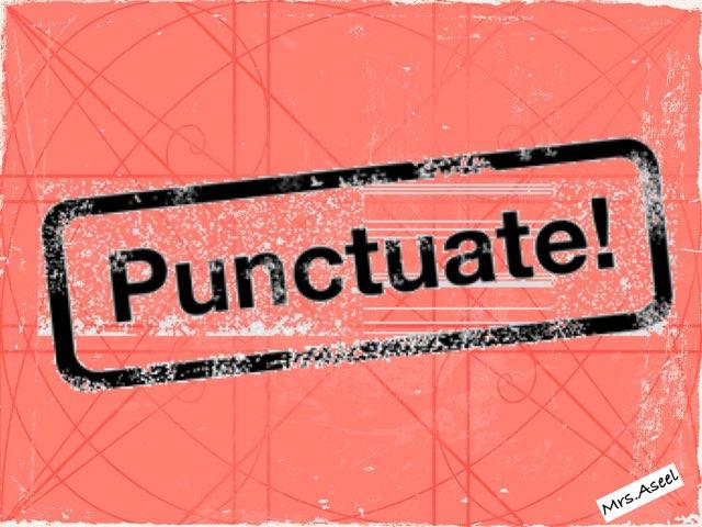 Punctuation 3rd Grade by Aseel Al-n