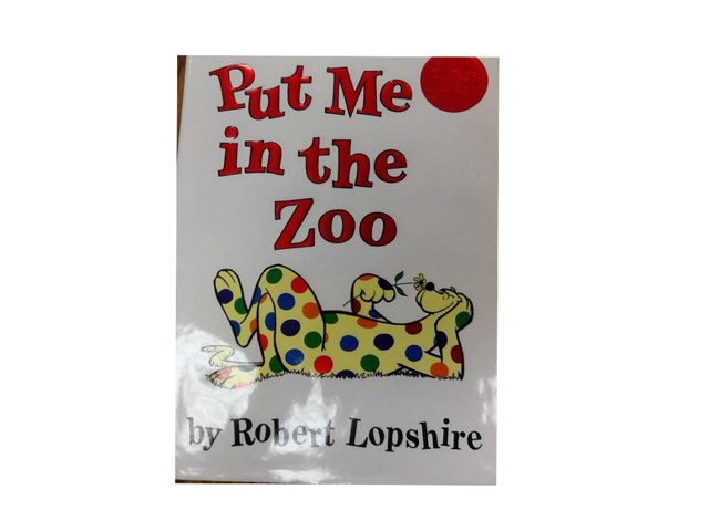 Put Me In The Zoo by Pam White