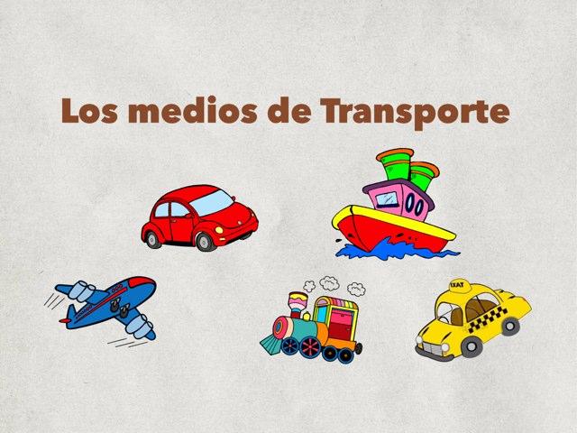Puzle Medios de Transporte by Deborah Morales Salazar