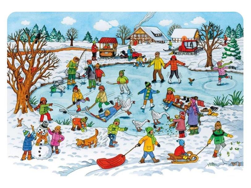 Puzzel mee in de sneeuw by Denise Beverloo-Thimister