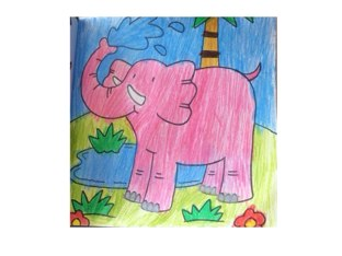 Puzzle Elephant by Oscar Lim