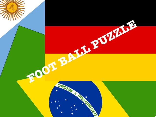 Puzzle FOOTBALL by Estelle Dib
