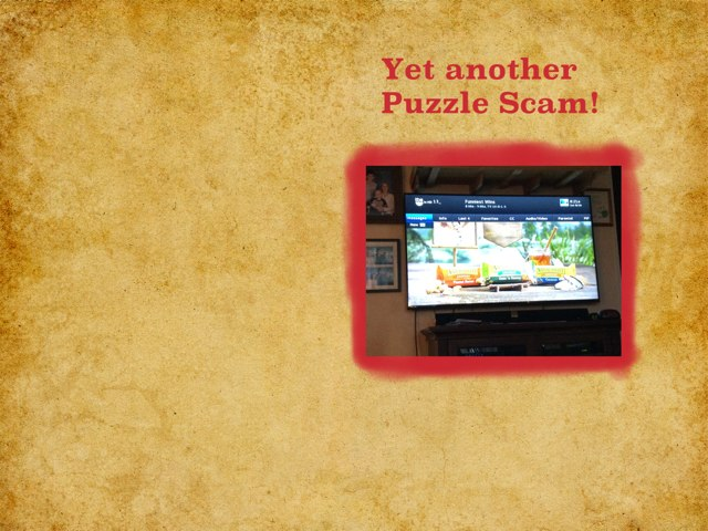 Puzzle Fever (aka Scammy Puzzle$) by David Hinkle