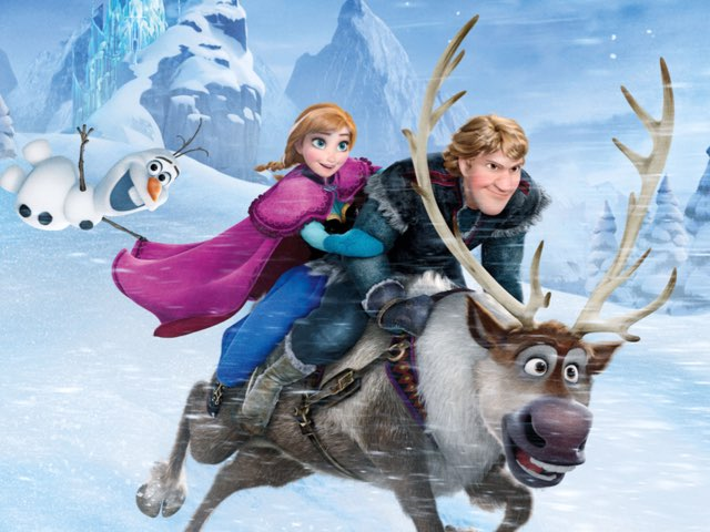 Puzzle Frozen by Дашуля Бабанина