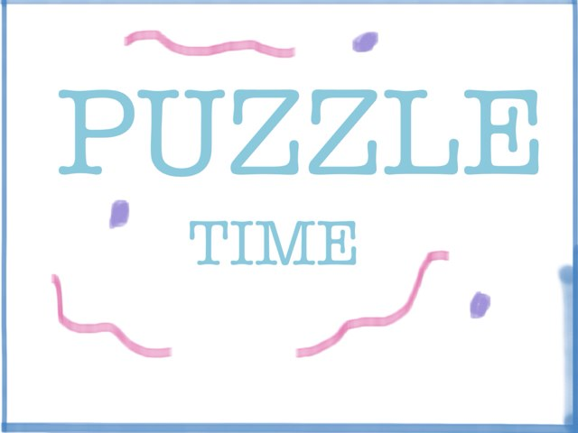 Puzzle Time AGE 3-4 by Amelia Hussain