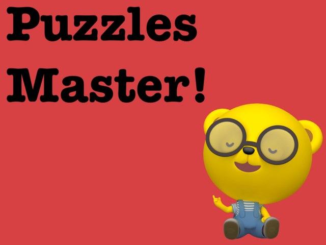 Puzzles Master by Saja Albulushi