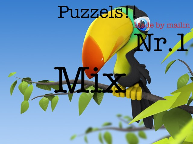 Puzzzels! Nr.1 by Mailin Sandum