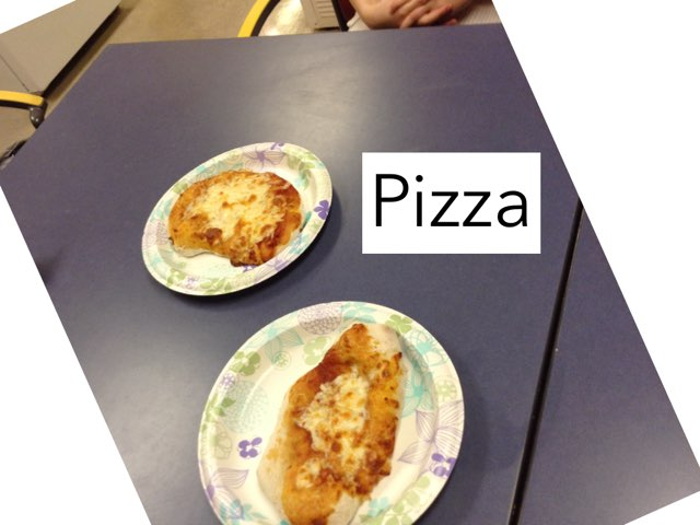 Q & L make Pizza by Katie Krabbenschmidt
