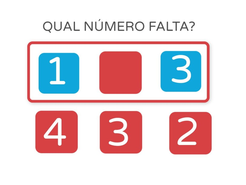 QUAL NÚMERO FALTA by LUIZ FELIPE LIMA