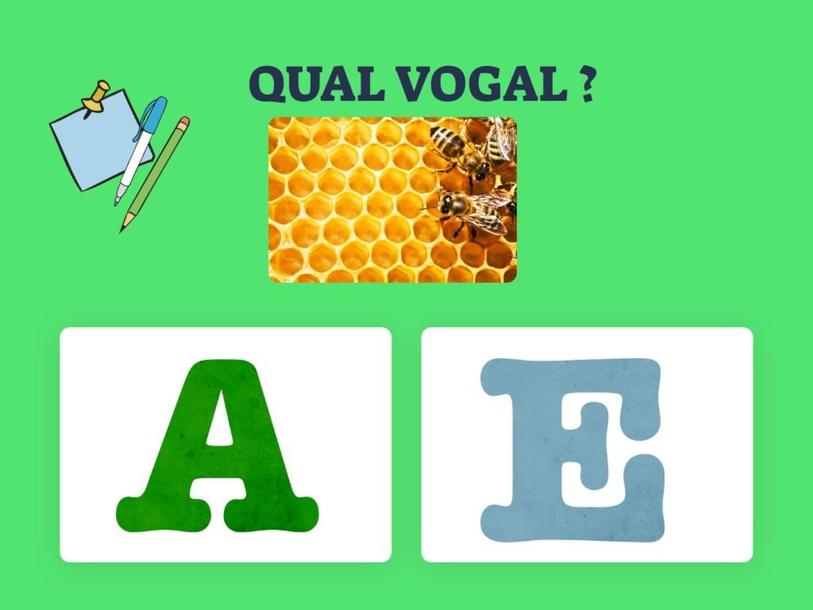QUAL É A VOGAL. by Livia Amorim
