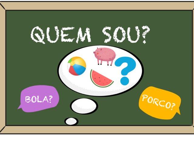 QUEM SOU? by Bárbara Rocco