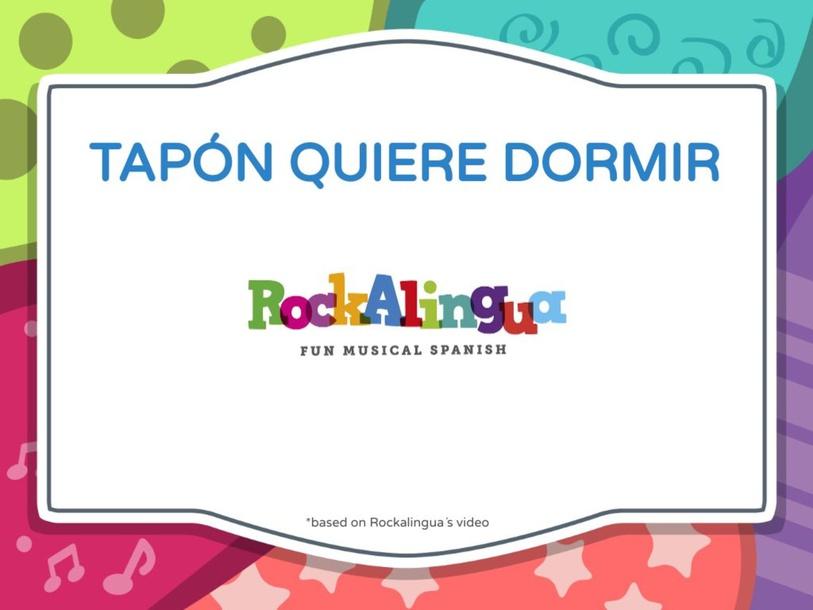 QUIERO DORMIR *BASED ON ROCKALINGUA´ VIDEO by LAURA PULLARA