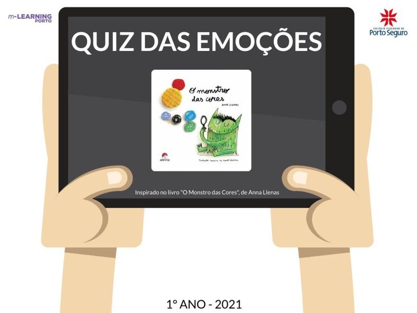 QUIZ DAS EMOÇÕES by Ariandne Nascimento