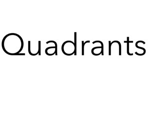 Quadrants by Jamie Mcpake