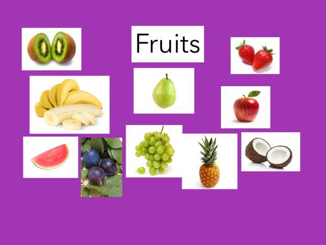 Qual  a fruta? by Escola lápis de cor