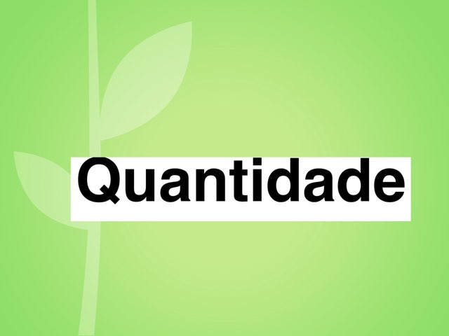 Quantidade by ۞Ste Lonza