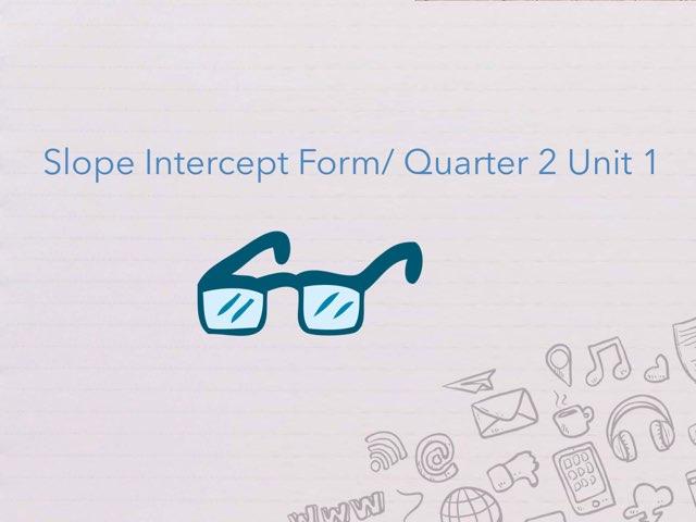 Quarter 2/ unit 1 by Melissa  Perez