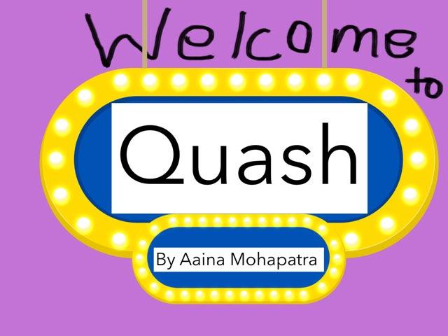 Quash by Aaina mohapatra