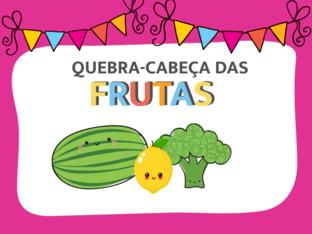 Quebra-cabeça das Frutas by Ana Carolina Povoa