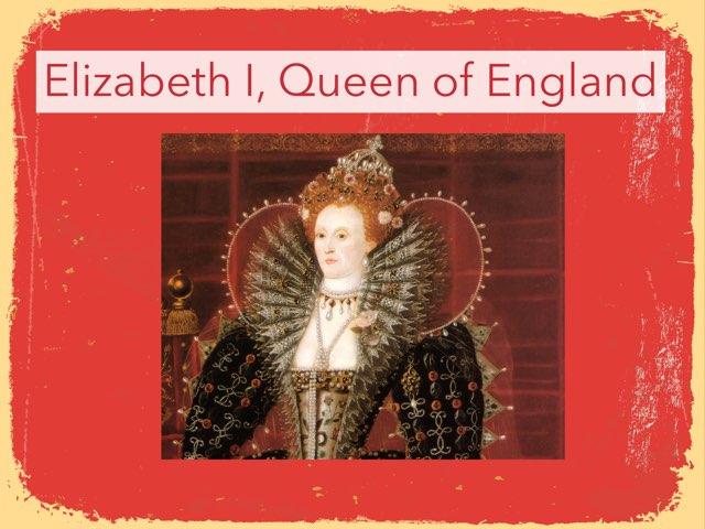 Queen Elizabeth I by Thalia Chelouche