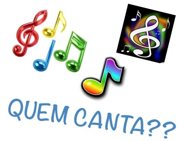 Quem canta? by Isabella Krieger Monteiro