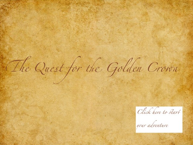 Quest For The Golden Crown - Joe And Shea by Mr Parkinson