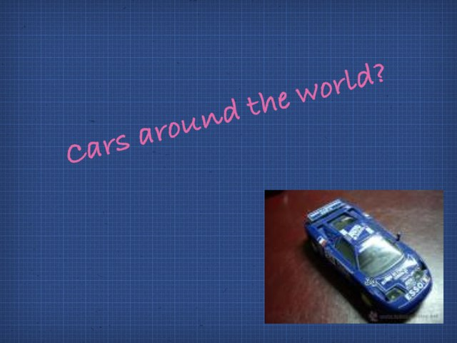 Questions About Cars Around The World by Summer School