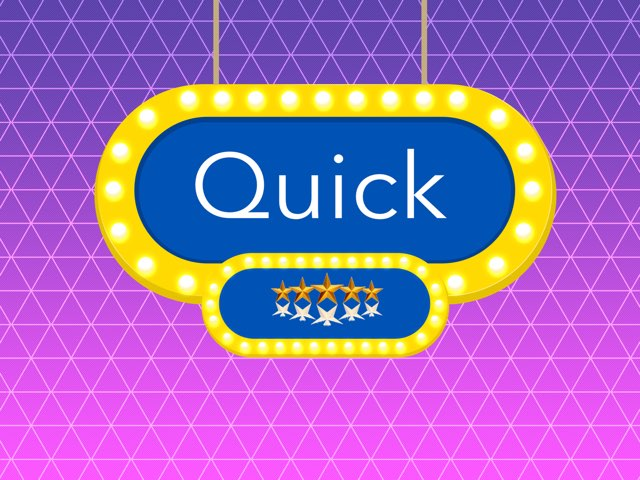 Quick by Aaina mohapatra