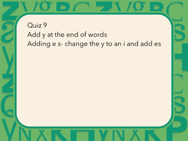 Quiz 9 by Laura Simpson