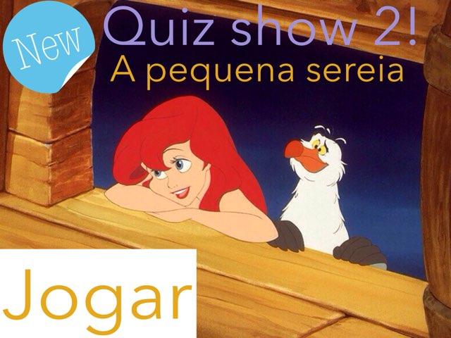 Quiz A Pequena Sereia-2 by Camilly Rangel