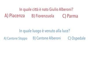 Quiz Alberoni by Filippo Fortunati