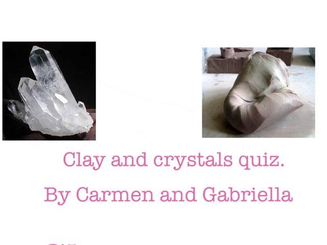 Quiz By Carmen & Gabriella by Arlene Gregersen