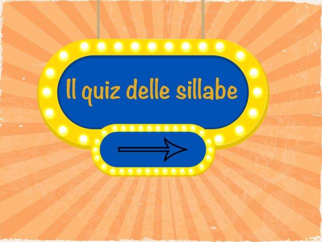 Quiz Di Sillabe by Tiziana Bertoncini