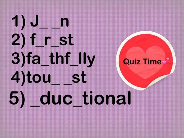 Quiz G6 by Muhra Aa