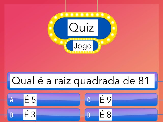 Quiz Jogo by Carlos Mascarenhas