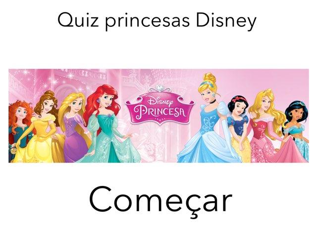 Quiz Princesa Disney by Camilly Rangel