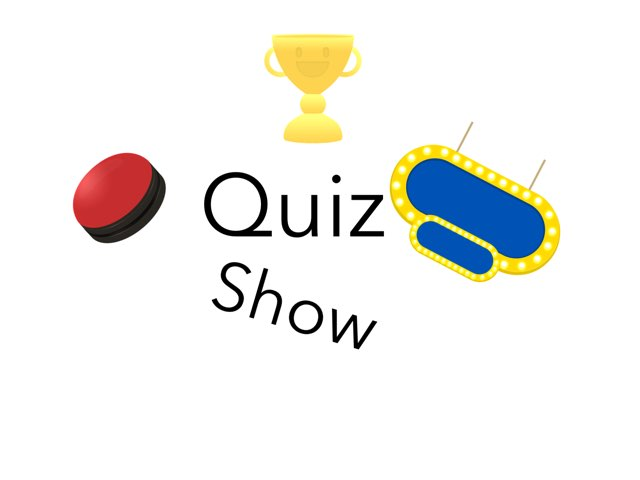 Quiz Show by Geoff Abbey