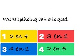 Quiz Splitsen by Judith Lenderink