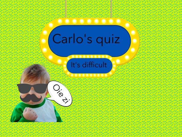 Quiz  by Daragh Mcmunn