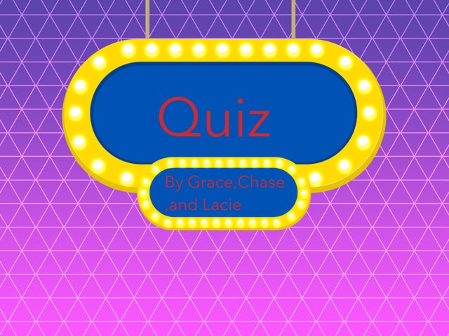 Quiz by Anne elise Smith