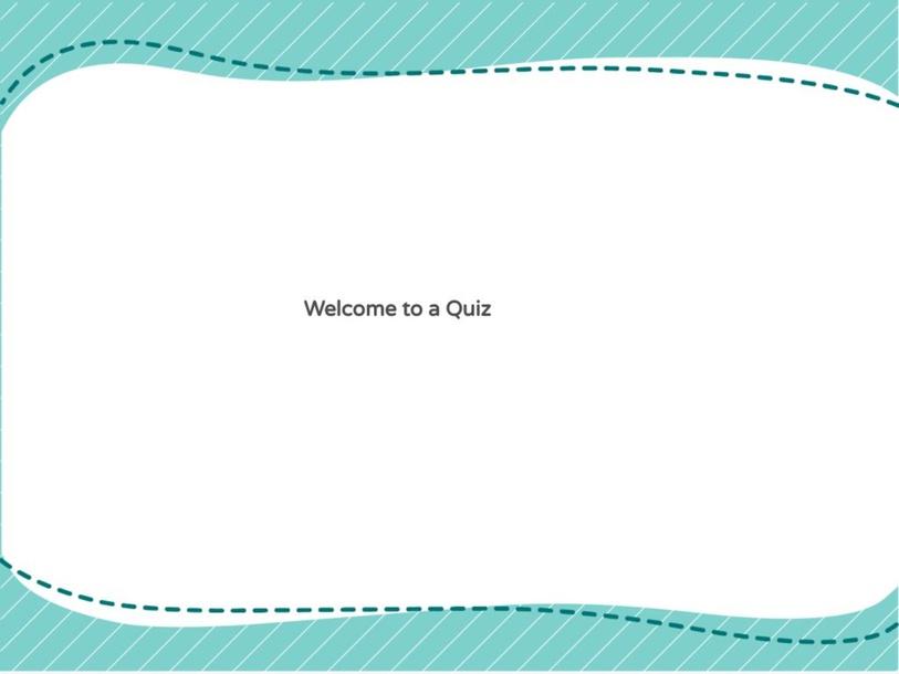 Quiz by John Limey