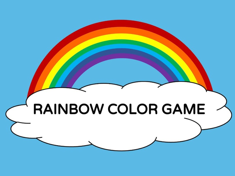 RAINBOW COLOR GAME by Taylor Gonzales